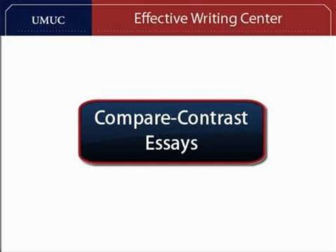 Ielts compare contrast essay questions
